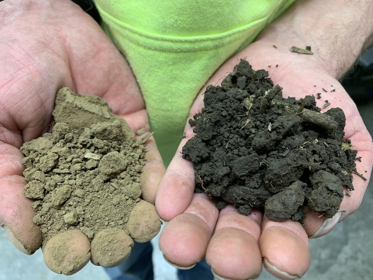 Soil contrast