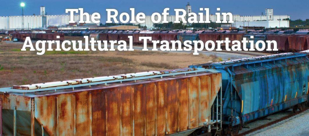 Role of rail in ag transportation