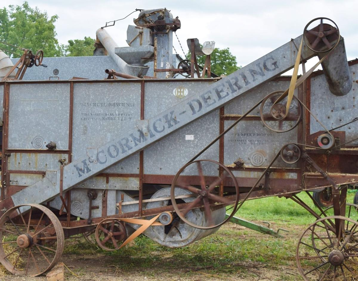 McCormick-Deering threshing machine