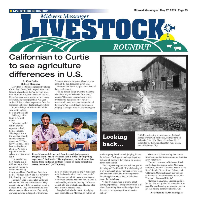 Livestock Roundup 5/17/19
