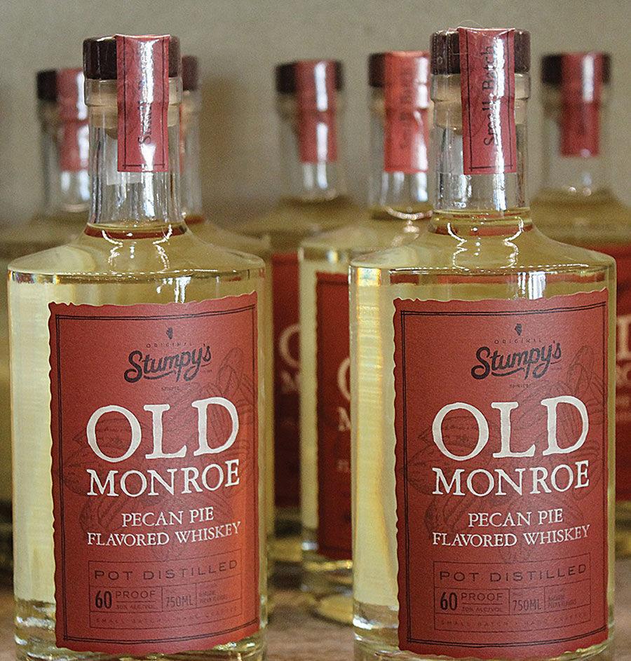 Old Monroe Pecan Pie whiskey