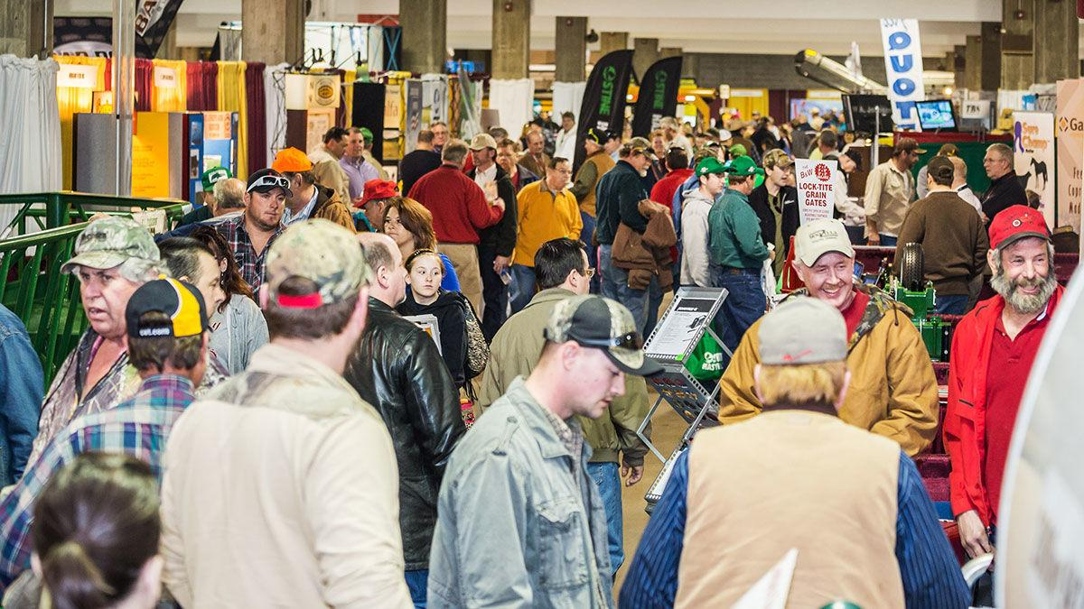 Western Farm Show attendees