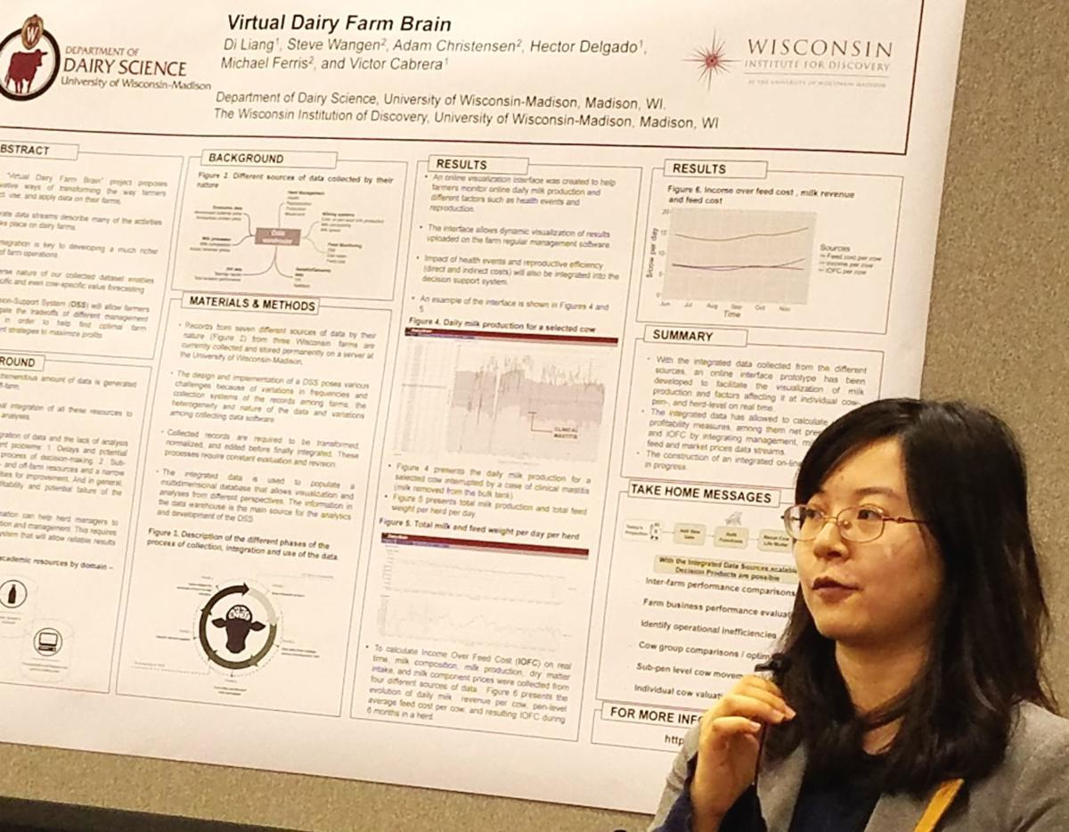 Di Liang at PDPW Conference