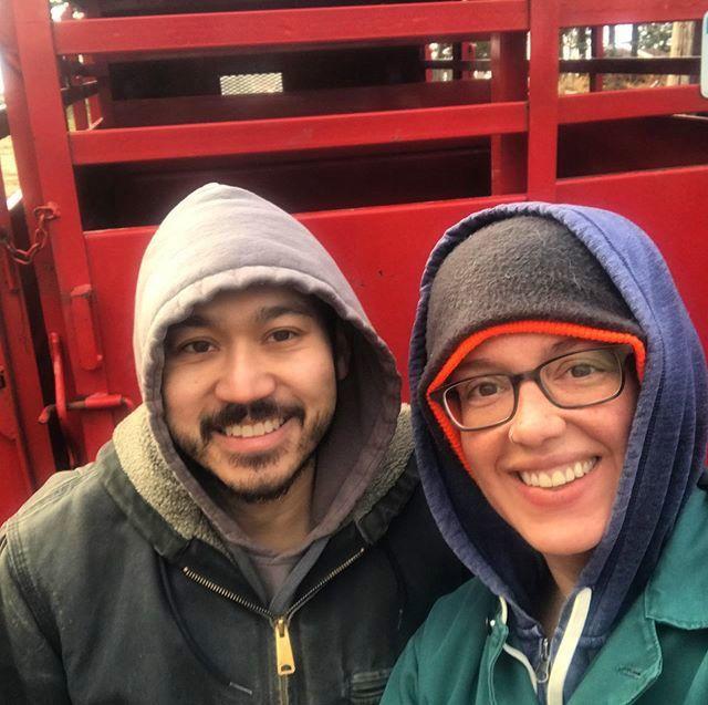 Dayna Burtness and her husband, Nick Nguyen