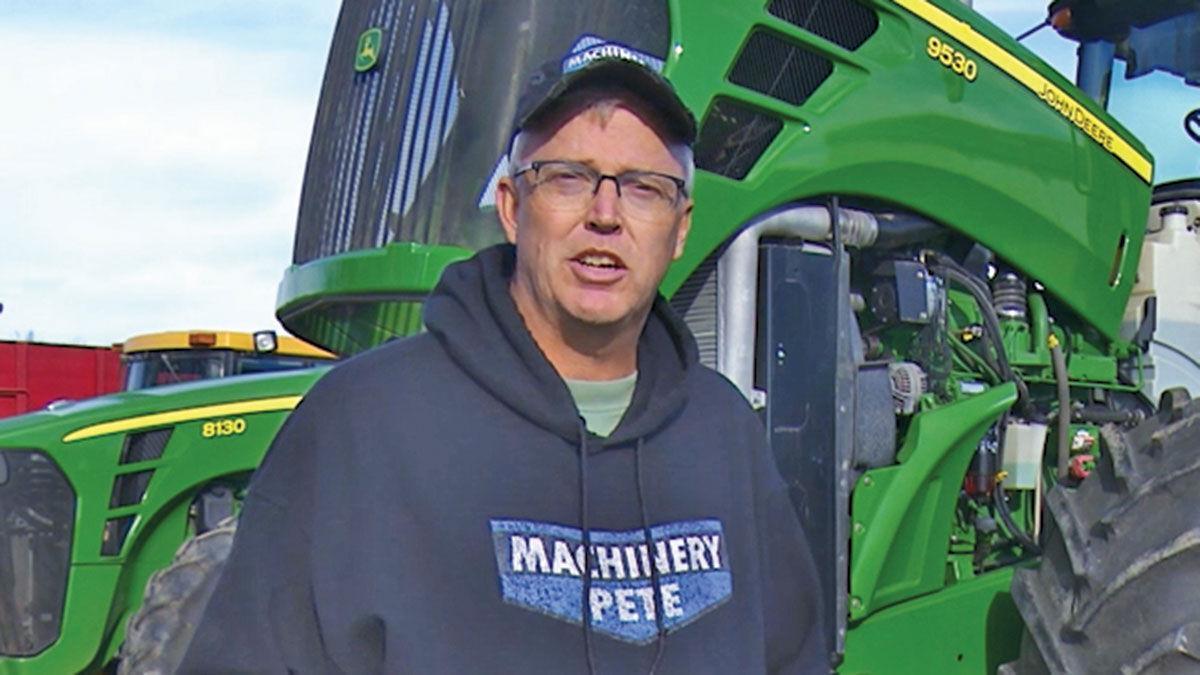 Greg Peterson Machinery Pete