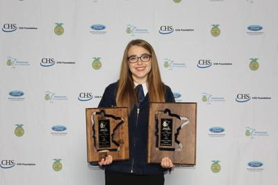 Katherine Moller, 2019 Minnesota FFA Star Farmer, Princeton FFA member