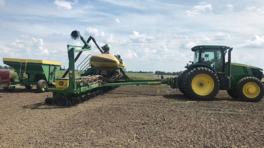 Central Illinois spring planting 2019 02