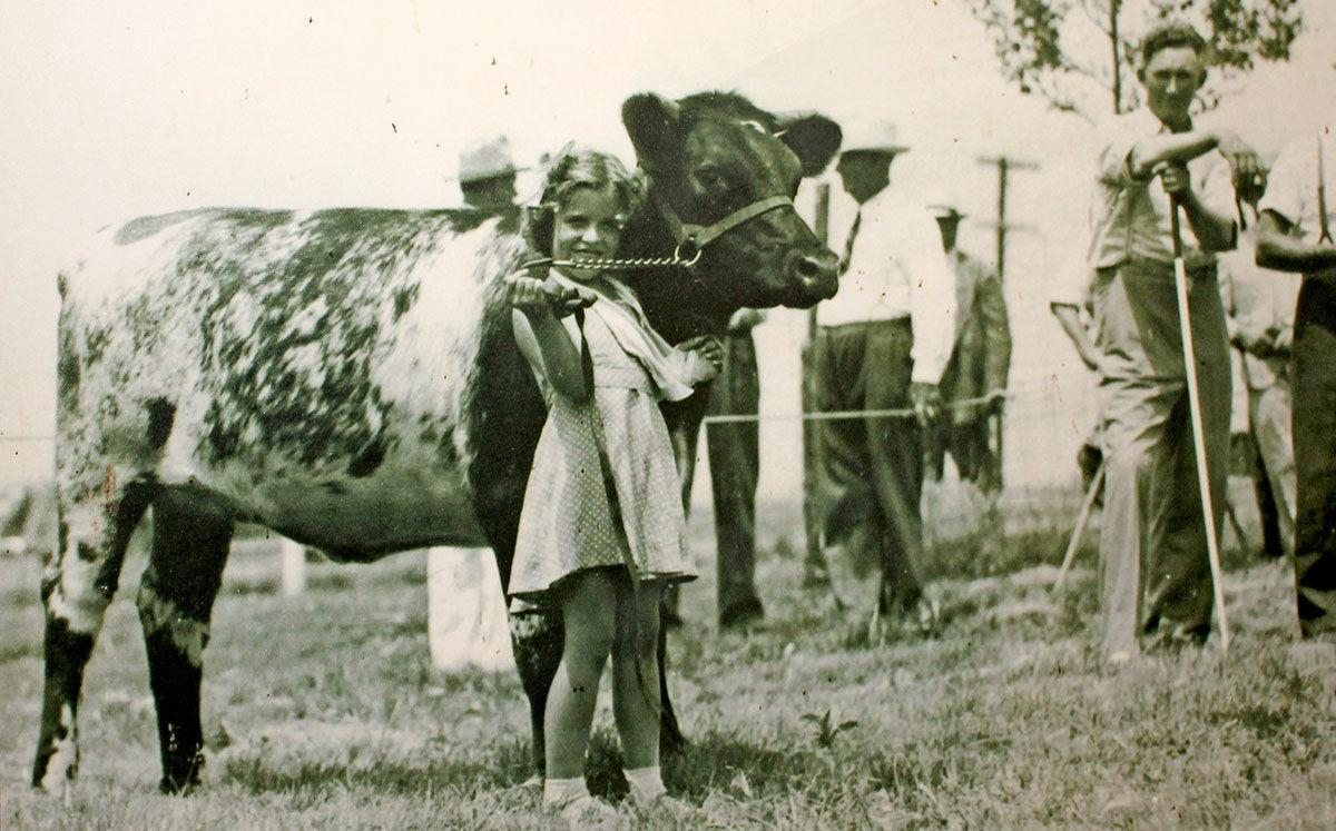 Shirley Harris at 5 years old