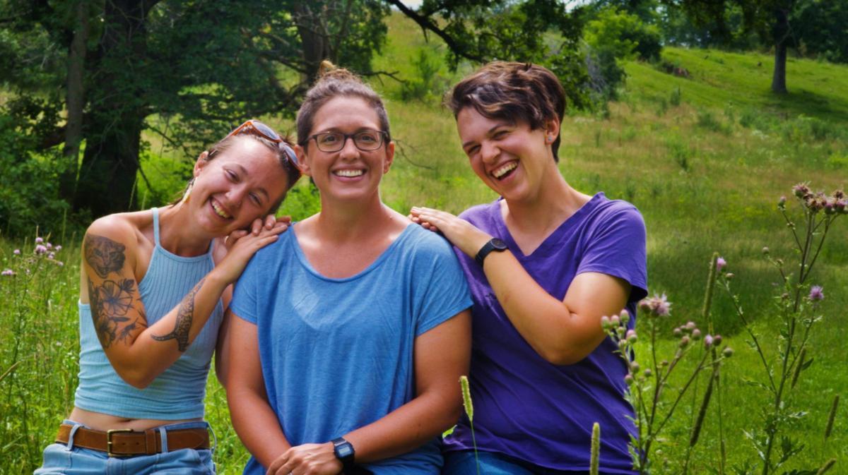 Bailey Lutz, Dayna Burtness and Heidi Eger