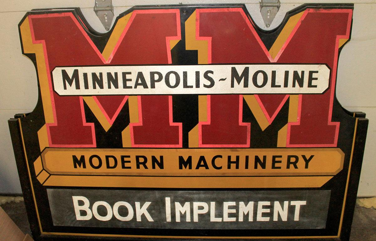 Book Implement sign