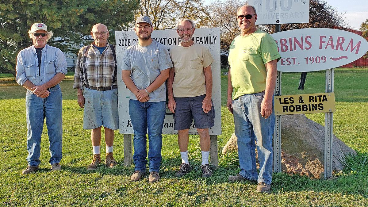 Harvest 2020 at the Robbins Farm