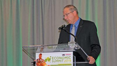 Iowa Farm Bureau Federation President Craig Hil