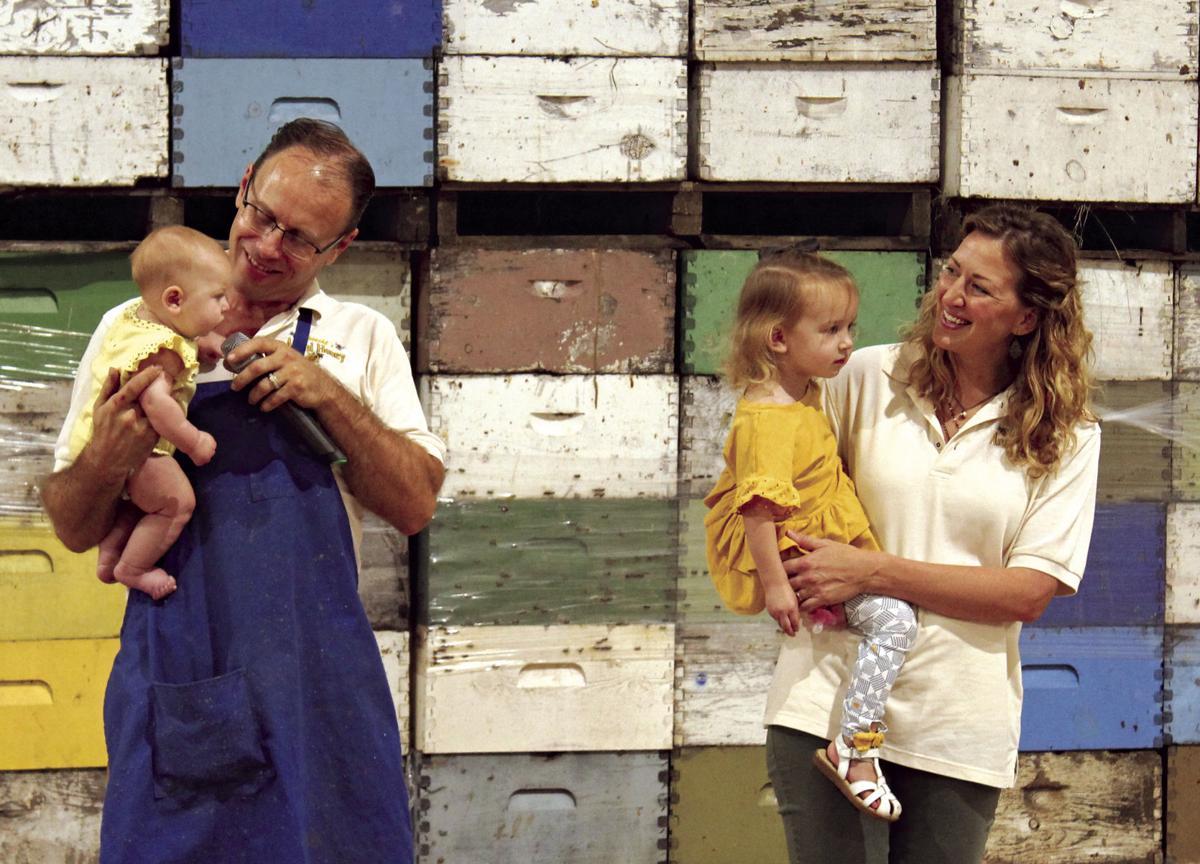 Honey farmers