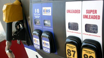 Gas and ethanol pump horizontal