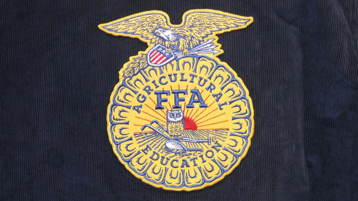 FFA patch on blue jacket