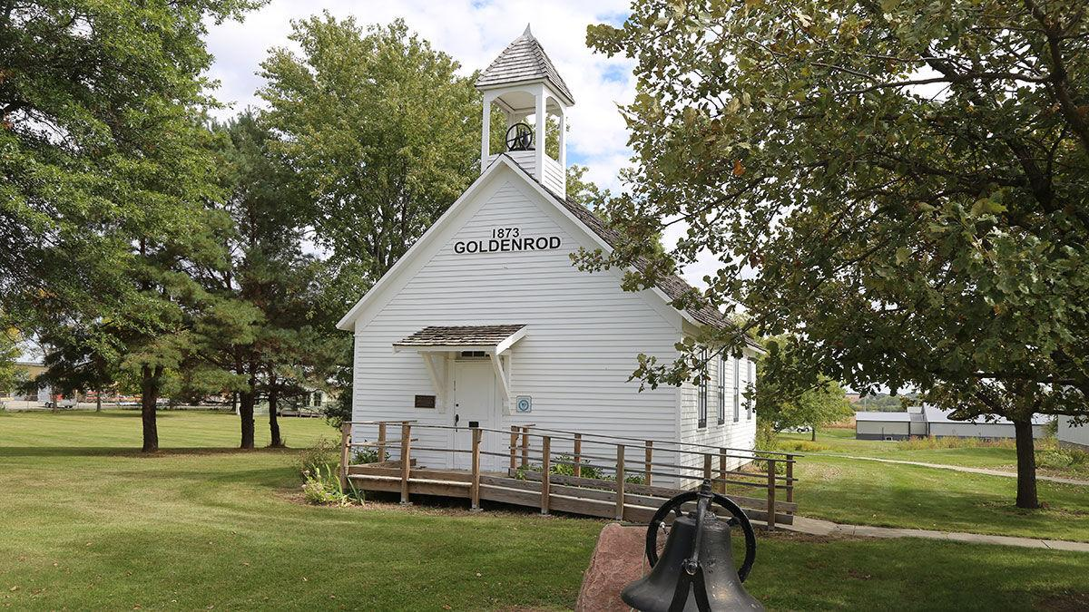 Goldenrod school in rural Page County, Iowa