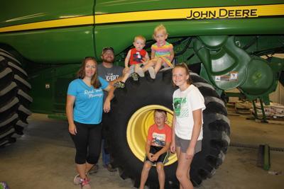 Natalie and Ben Storm, with their children, Waylon, Erma, McKenzie and Milo. (copy)