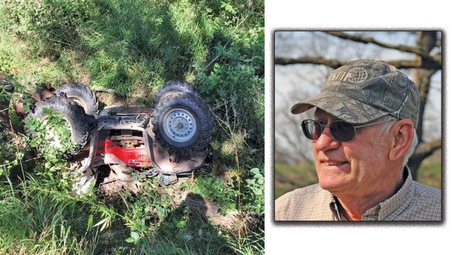 David Endorf surviving an ATV rollover