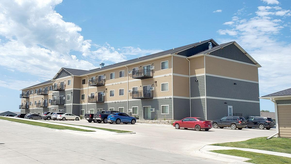 50-apartment complex