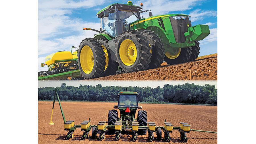 Modern Farm Demands Sculpt Planter Tractor Crop