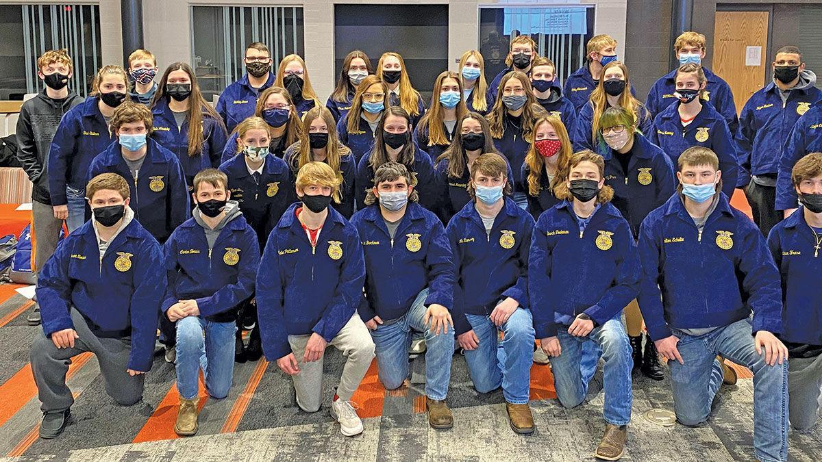 FFA chapter at Cedar Rapids Prairie High School