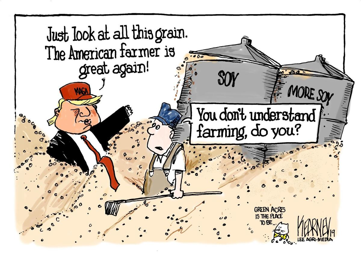 Trump just doesn't understand farming -- Greg Kearney