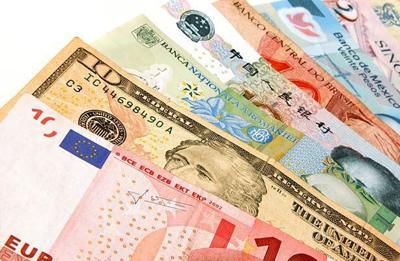 Dollar with other currencies