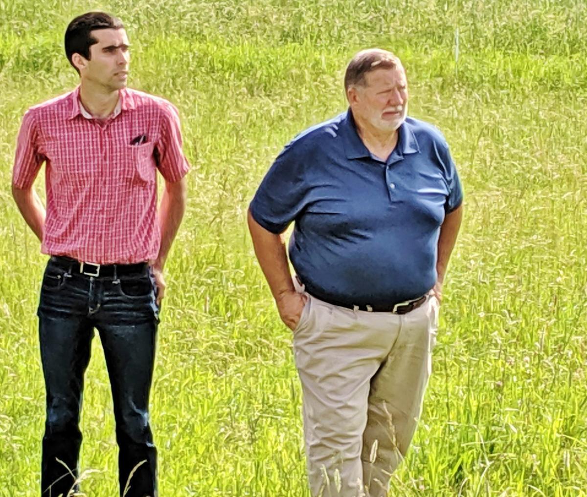 Nicholas Leete and John Priske