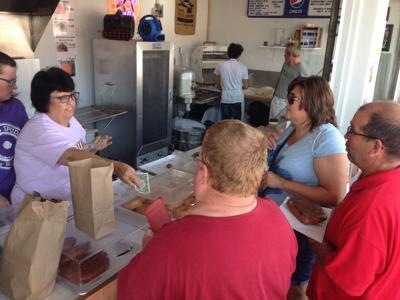 Clay County Fair food