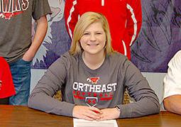 Lindberg signs with NECC
