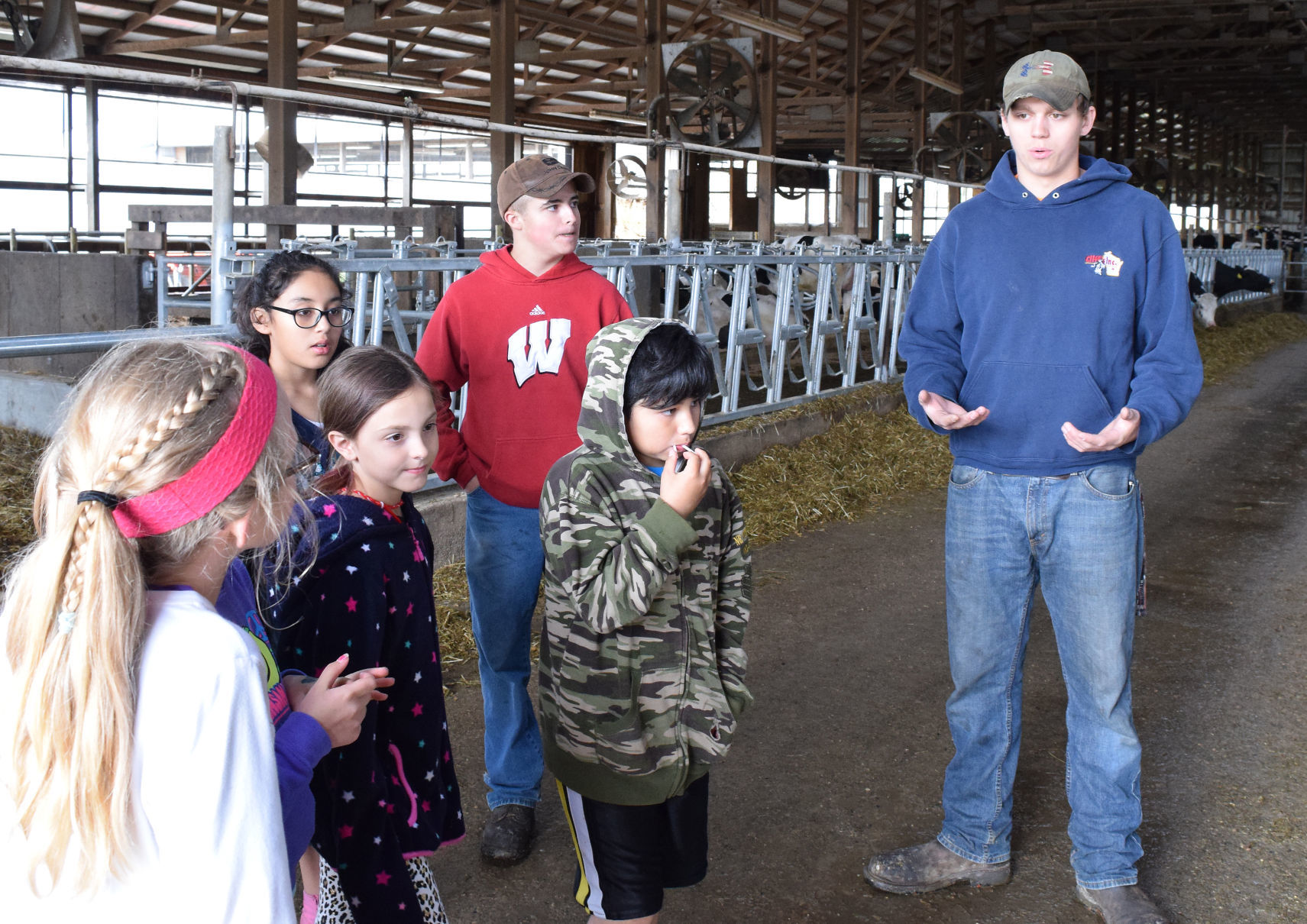 Farmer In Training Children/'s Hoodie Children/'s Farming Hoody