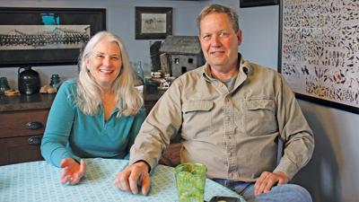 John and Sue Hughes