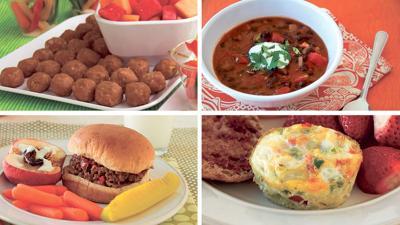 ISU soup and snacks