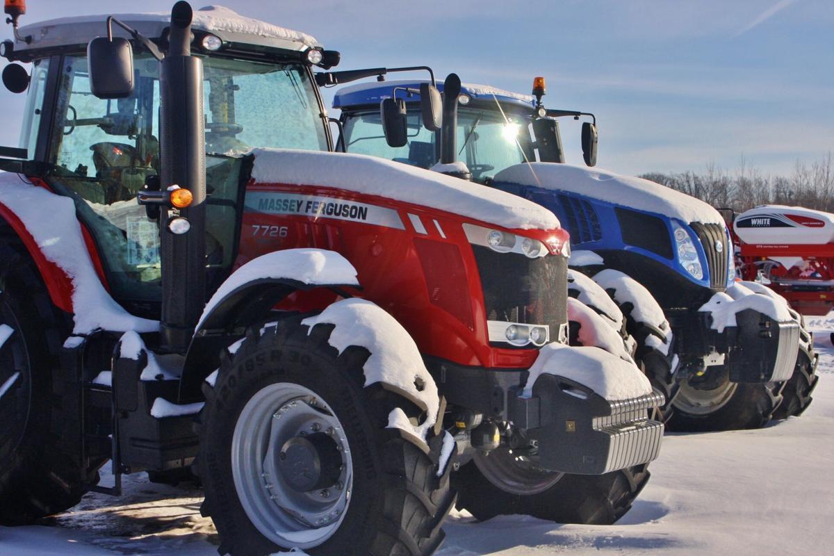Modern tractors