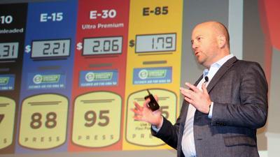John Eichberger at Iowa Renewable Fuels Summit