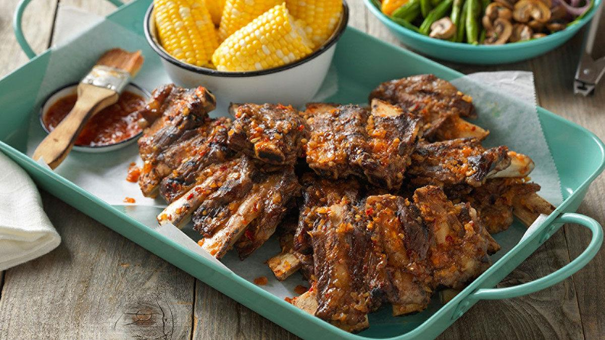 Spicy Beef Back Ribs