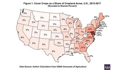 Cover crop census map