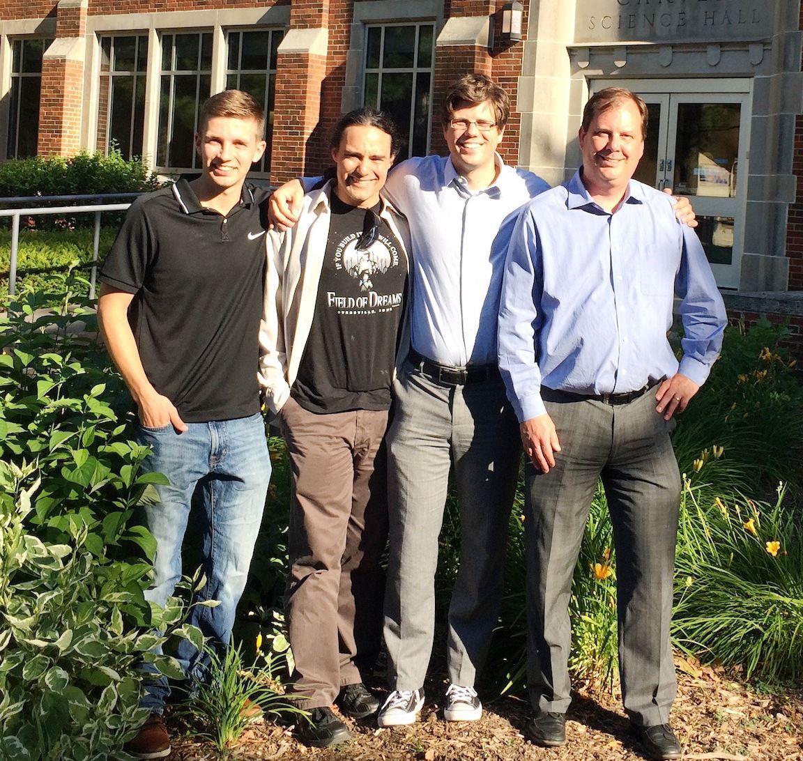 Ryan Skaar, Aaron Santos, Derek Lyons and Todd Kielkopf