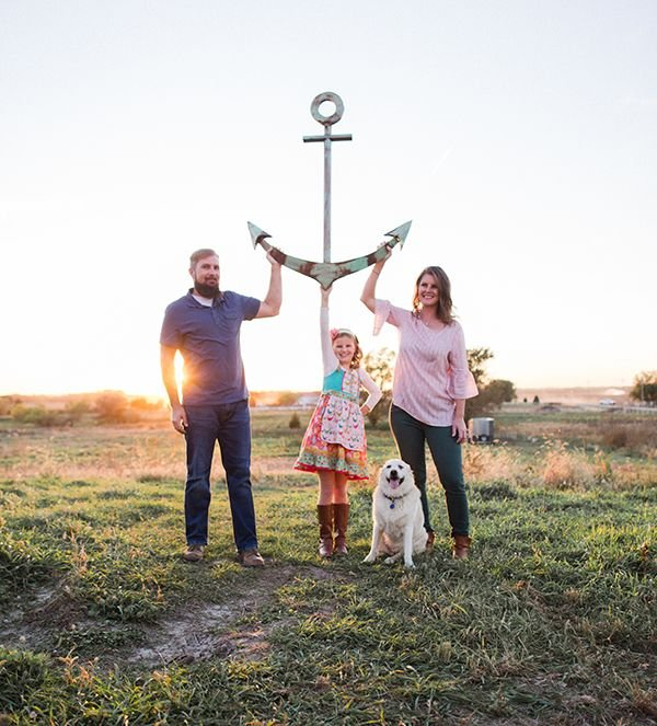 Hendl family Anchor Meadow Farm