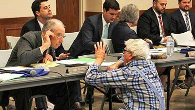 Sen. Chuck Grassley hearing in Glenwood