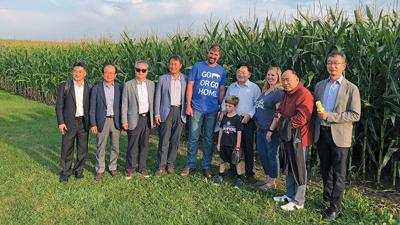 delegation from South Korea visits Deal Farms