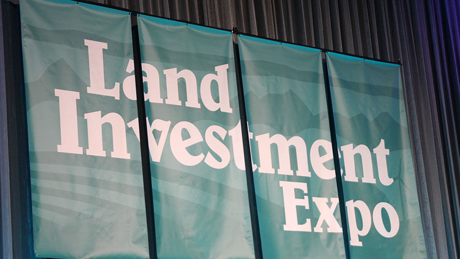 Land Investment Expo banner