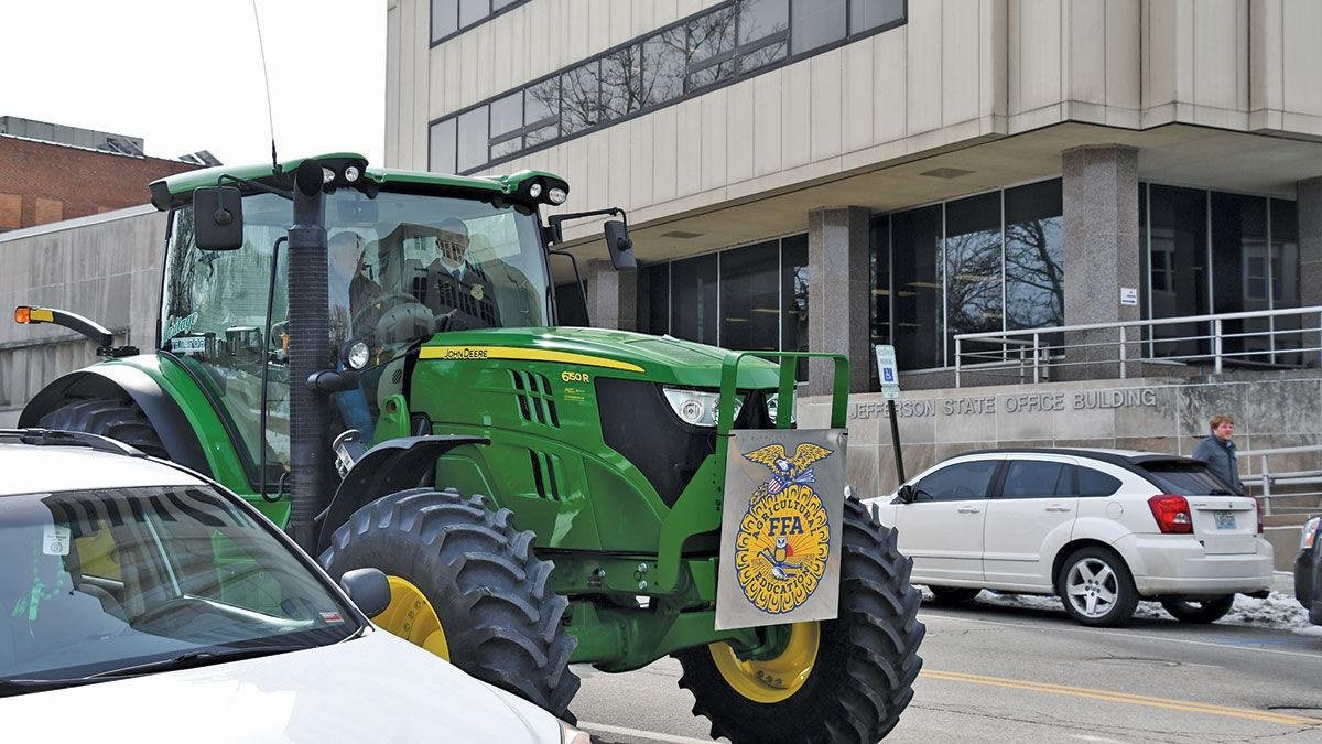 """Paxton Dahmer, """"Drive Your Tractor to Work"""" event"""