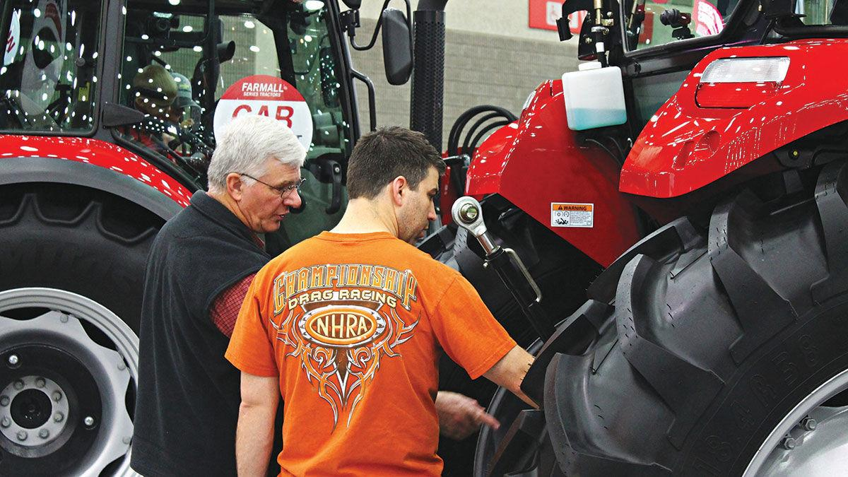 Visitors to the National Farm Machinery Show
