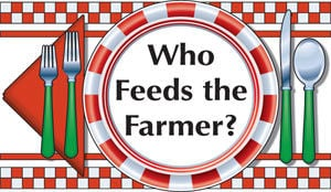 Who Feeds the Farmer? logo