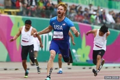 Nebraska man becomes champion runner after losing foot