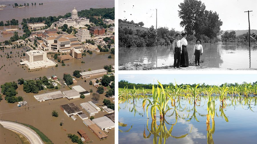 Missouri River floodwaters