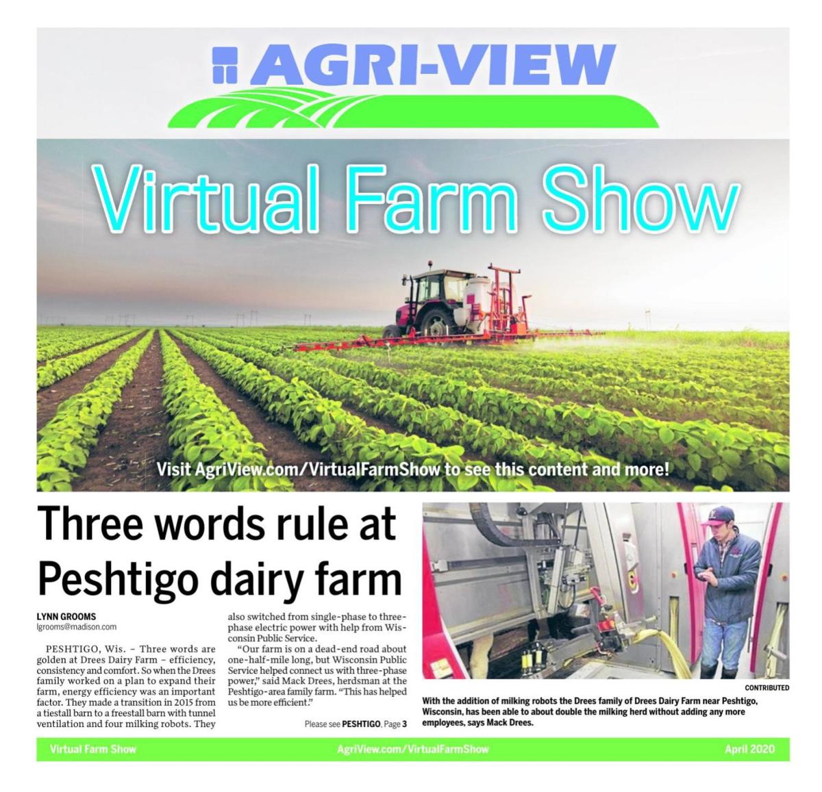 Agri-View Virtual Farm Show -- April 2020