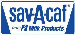 Sav-a-Caf logo Milk Products logo
