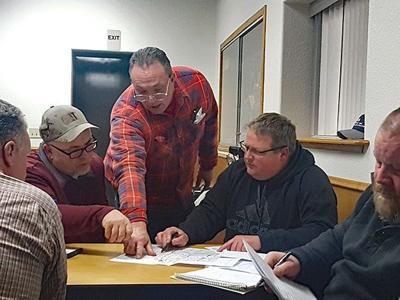 Township officials meet to help restart boards